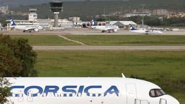 Aéroport d'Ajaccio.