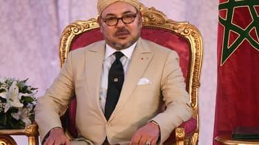 Le roi du Maroc Mohammed VI, le 20 septembre 2015.