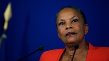 """Christiane Taubira a dénoncé un """"désaccord politique majeur""""."""