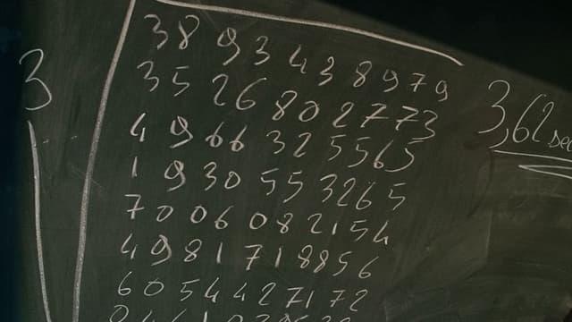 Le record du monde de calcul mental en 2004 par un Français: il a obtenu la racine treizième d'un nombre à 100 chiffres en 3,625 secondes (photo d'illustration)