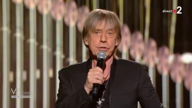 Jean-Louis Aubert sur la scène des Victoires de la musique 2021