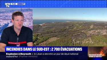 Incendies dans le Sud-Est : 2 700 évacuations (4) - 05/08