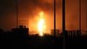 Les images de l'explosion à Tianjian d'un dépôt de de produits inflammables, non loin de Pékin en Chine