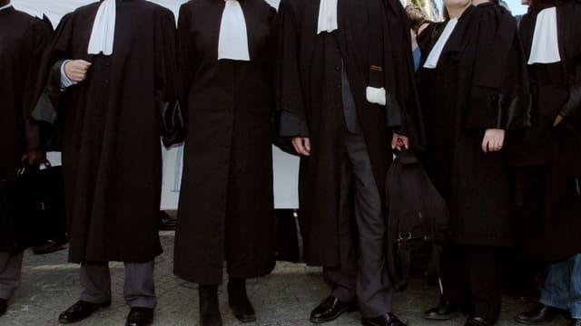 Une manifestation d'avocats (image d'illustration)