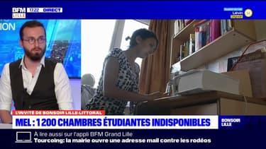 """""""La tension est réelle dès maintenant"""": pour le président de la FAEL, il y a une """"ruée"""" sur les logements étudiants"""