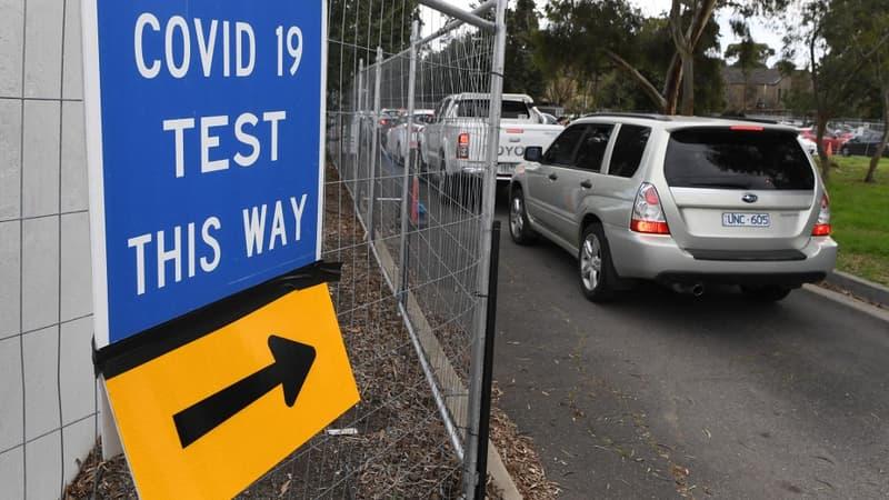 confinement immédiat des 5 millions d'habitants de Melbourne