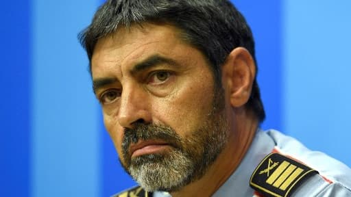 Josep Luis Trapero, chef des Mossos d'Esquadra, convoqué par la justice.
