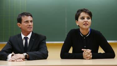 Najat Vallaud-Belkacem soutient Manuel Valls dans sa course à l'élection présidentielle. (Photo d'illustration)