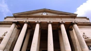 Le palais de justice de Caen.