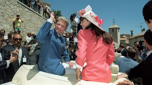 Johnny Hallyday et Adeline Blondieau se sont mariés une première fois en 1990