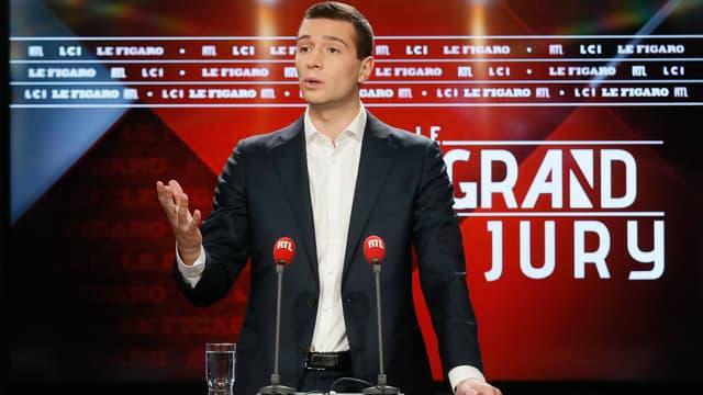 "Jordan Bardella invité du ""Grand Jury"" dimanche 5 janvier 2020"