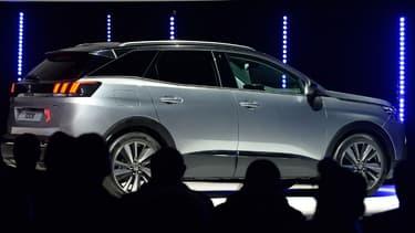 Le succès toujours impressionnant de la Peugeot 3008 est l'ingrédient principal du succès du constructeur au Lion.