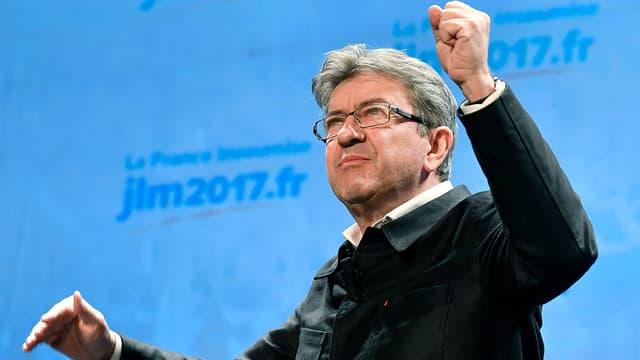 Jean-Luc Melenchon, le 29 novembre 2016.