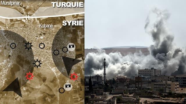La ville de Kobané, importante localité kurde, subit les assauts de Daesh depuis plusieurs semaines.