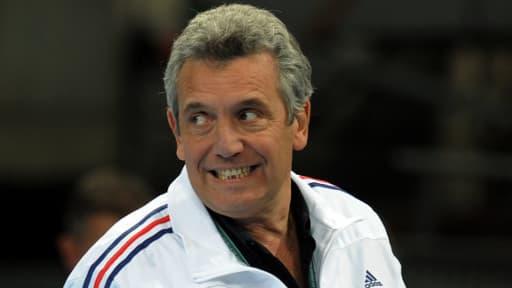 Claude Onesta, le sélectionneur de l'équipe de France de handball