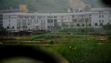 Le camp de rééducation par le travail de Zhuzhou Baimalong, dans la province chinoise de Hunan, le 29 avril 2013.