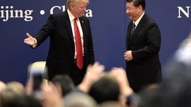 Donald Trump et Xi Jinping ont dévoilé pour plus de 250 milliards de dollars d'accords commerciaux.