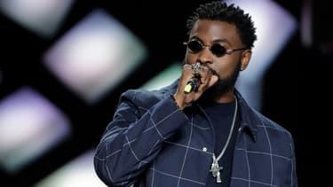 Le rappeur Damso aux Victoires de la musique en 2019.