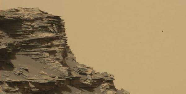 Photo fournie la NASA, prise sur Mars le 8 septembre 2016.
