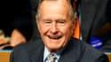 L'ancien président américain George H. Bush, 88 ans, se trouve en soins intensifs dans un hôpital de Houston. /Photo d'archives/REUTERS/Rick Wilking