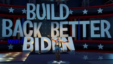 Joe Biden poursuit sa campagne sur Fortnite