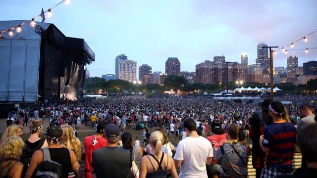 Lors du festival Lollapalooza, à Chicago, le 29 juillet 2016.