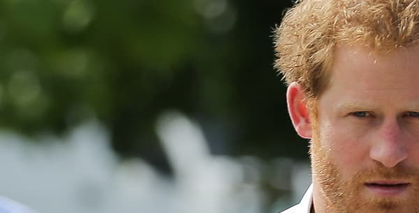 Le Prince Harry en juin 2016