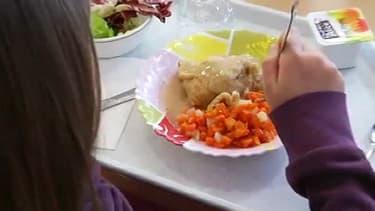 Dans une cantine de Marseille où des insectes ont été retrouvés dans des plats, le 22 janvier dernier.