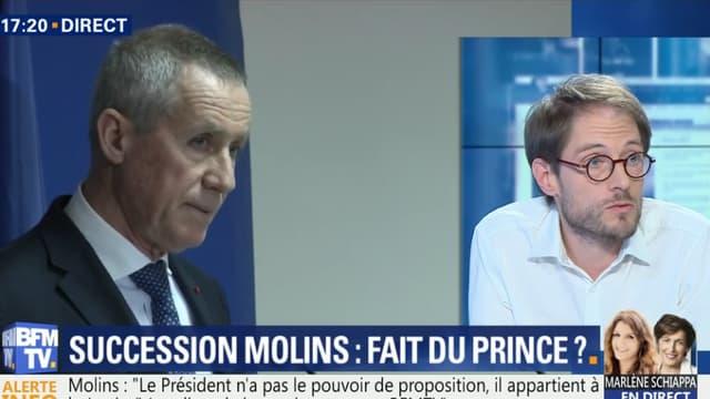 François Molins quittera son poste de procureur de la République au mois de novembre.