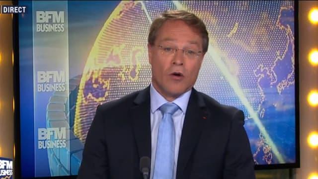 François Asselin, invité de BFM Business.
