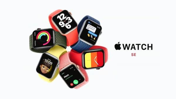 L'Apple Watch SE, plus abordable.