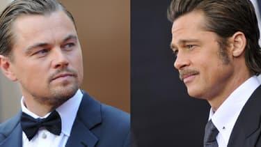 Leonardo DiCaprio et Brad Pitt.