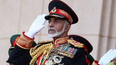 Le sultan Qabous, en 2010