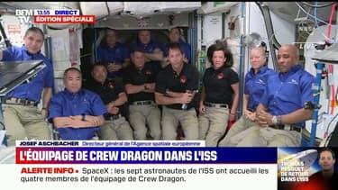 L'image des 11 astronautes actuellement présents dans la Station spatiale internationale