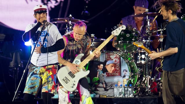 Les Red Hot Chili Peppers, le 29 juin 2016