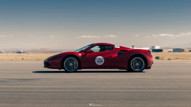 Image d'illustration - Une Ferrari 488.