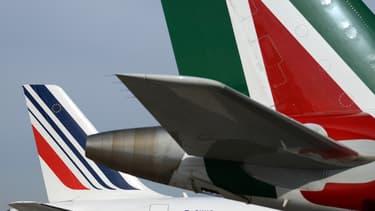 Le partenariat entre Alitalia et Air France-KLM prendra fin en 2017.