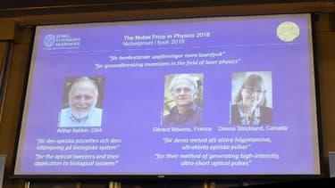Gérard Mourou est parmi les trois lauréats du Nobel de physique.
