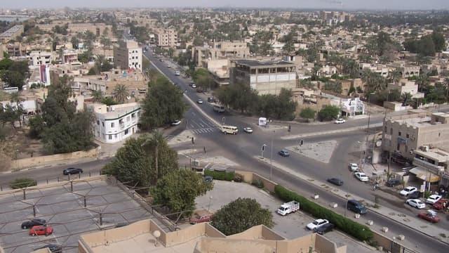 Ville de Bagdad en Irak