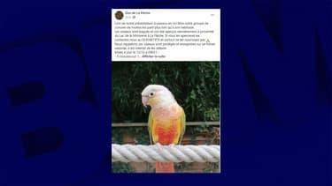 L'annonce publiée par le Zoo de la Flèche