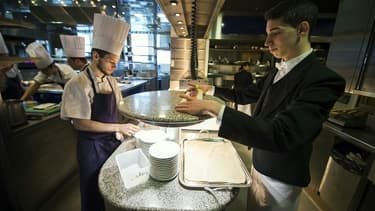 Le métier de serveur est l'un de ceux pour lesquels les entreprises ont le plus de mal à recruter.