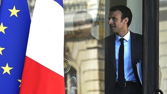 Emmanuel Macron, ici en mars 2015, pense à son avenir au-delà de 2017.