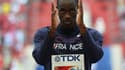 Teddy Tamgho, champion du monde du triple saut