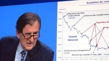 Jean-René Fourtou, président du Conseil de surveillance de Vivendi
