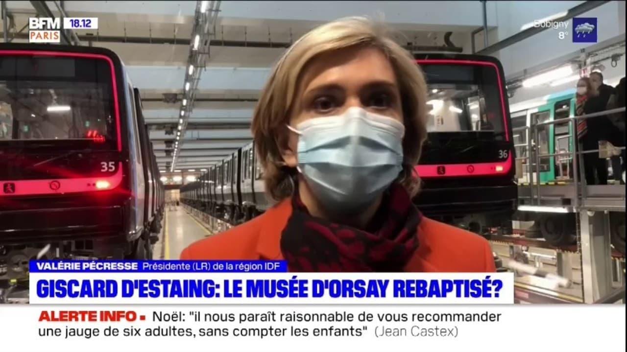 Rachida Dati et Valérie Pécresse proposent de rebaptiser le musée d'Orsay au nom de Valéry Giscard d'Estaing