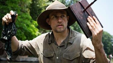 """L'acteur Charlie Hunnam incarne l'explorateur Percival Harrison Fawcett dans """"The Lost City of Z"""""""