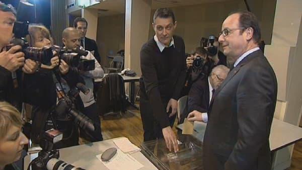 François Hollande à Tulle, le 29 mars.