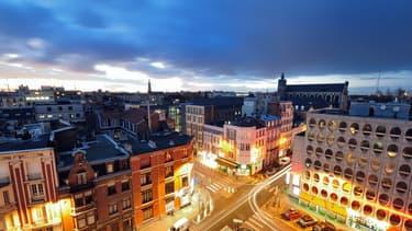 Une photo aérienne de Lille (photographie d'illustration)