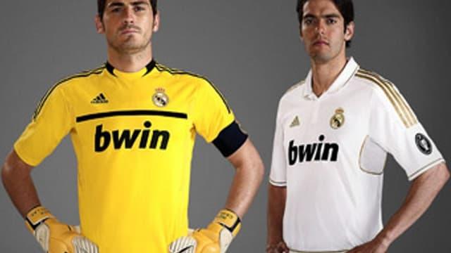 Les nouveaux maillots du Real