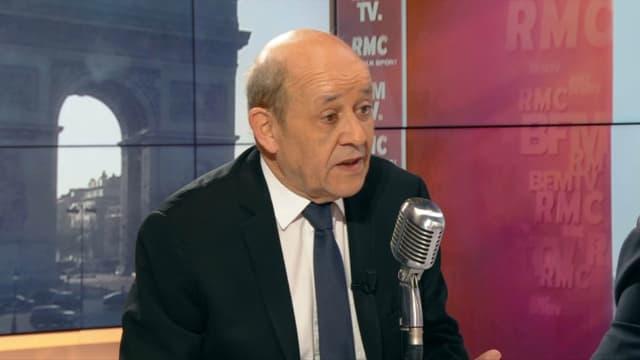 Jean-Yves Le Drian sur BFMTV et RMC.